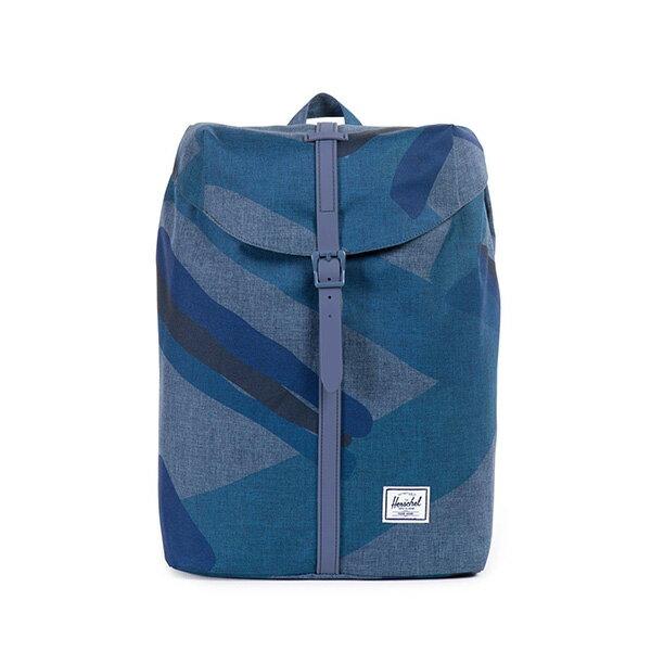 【EST】HERSCHEL POST 尼龍 13吋電腦包 後背包 水墨 藍 [HS-0021-705] F0421 0