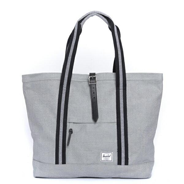 【EST】Herschel Market XL 磁扣帶 托特包 購物袋 側背包 肩背包 麻灰 [HS-0030-715] F0429 0