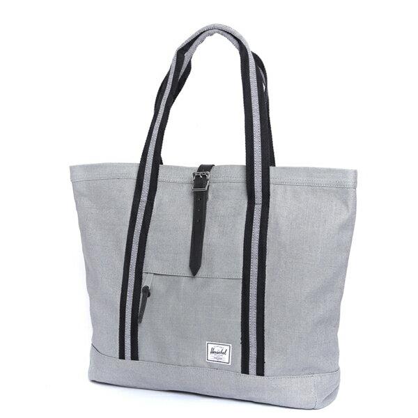 【EST】Herschel Market XL 磁扣帶 托特包 購物袋 側背包 肩背包 麻灰 [HS-0030-715] F0429 1