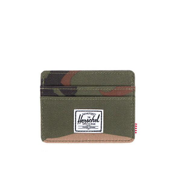 【EST】Herschel Charlie 橫式 卡夾 名片夾 證件套 迷彩 [HS-0045-032] F0421 0