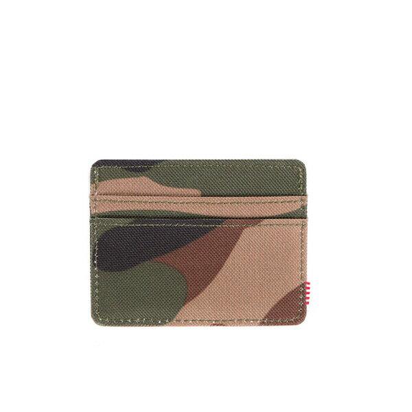 【EST】Herschel Charlie 橫式 卡夾 名片夾 證件套 迷彩 [HS-0045-032] F0421 1