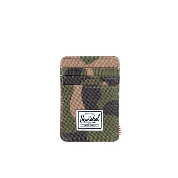 【EST】Herschel Raven Wallet 直式 卡夾 名片夾 證件套 鈔票夾 迷彩 [HS-0048-032] F0421 0