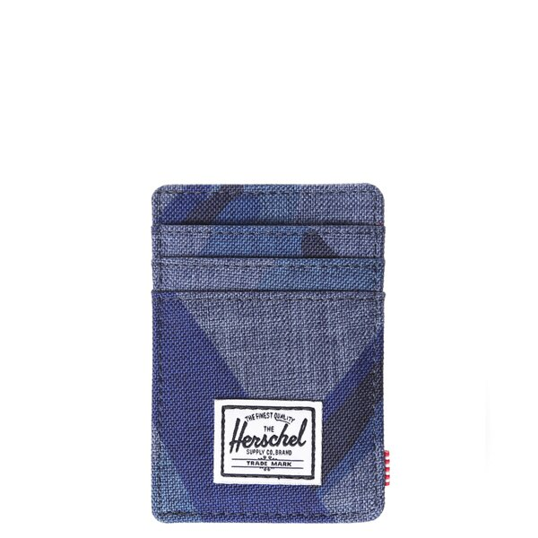 【EST】Herschel Raven Wallet 直式 卡夾 名片夾 證件套 鈔票夾 水墨 藍 [HS-0048-705] F0429 0