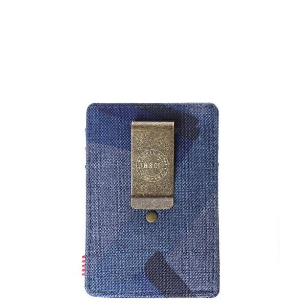 【EST】Herschel Raven Wallet 直式 卡夾 名片夾 證件套 鈔票夾 水墨 藍 [HS-0048-705] F0429 1