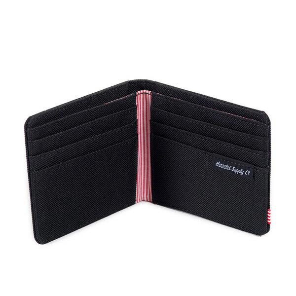 【EST】Herschel Roy Wallet 短夾 皮夾 錢包 黑 [HS-0069-165] F0421 2