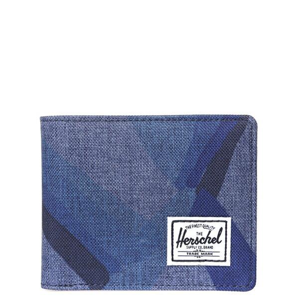 【EST】HERSCHEL HANK COIN WALLET 短夾 皮夾 零錢包 水墨 藍 [HS-0149-705] F0429 0