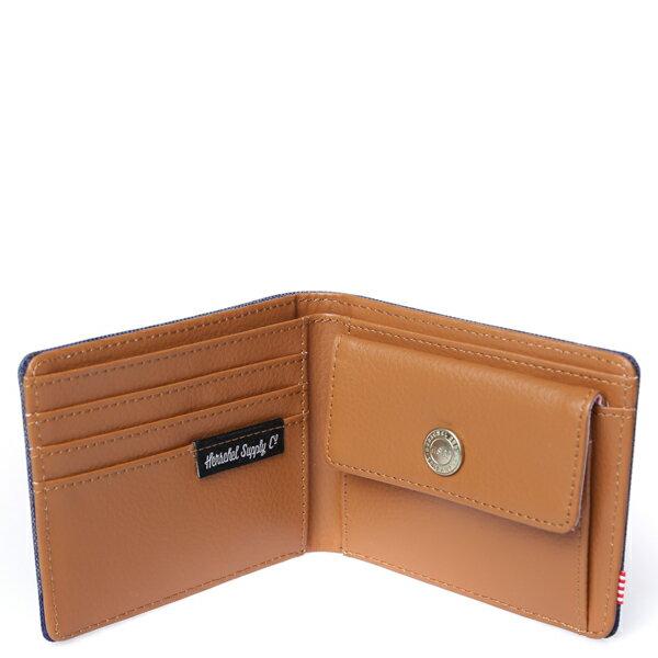 【EST】HERSCHEL HANK COIN WALLET 短夾 皮夾 零錢包 水墨 藍 [HS-0149-705] F0429 2