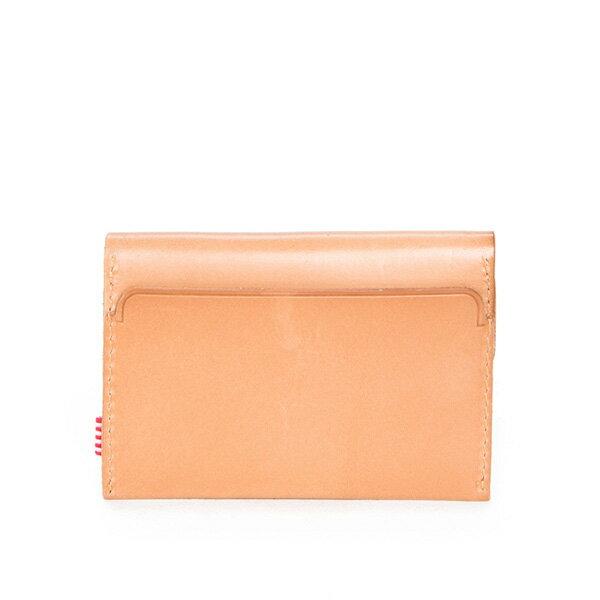 【EST】Herschel Jacks Wallet 皮革 卡夾 零錢包 淺褐 [HS-0157-464] F0421 1