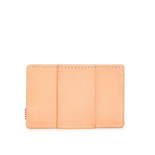 【EST】HERSCHEL FELIX WALLET 皮革 卡夾 鈔票夾 淺褐 [HS-0159-464] F0421 1