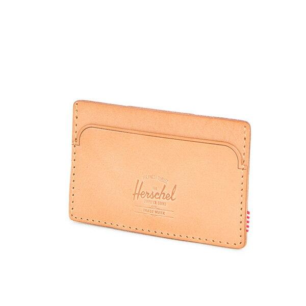 【EST】HERSCHEL FELIX WALLET 皮革 卡夾 鈔票夾 淺褐 [HS-0159-464] F0421 2