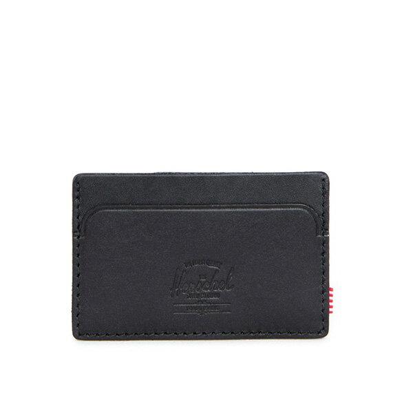 【EST】HERSCHEL FELIX WALLET 皮革 卡夾 鈔票夾 黑 [HS-0159-465] F0421 0