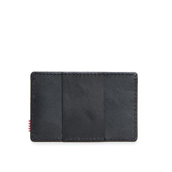 【EST】HERSCHEL FELIX WALLET 皮革 卡夾 鈔票夾 黑 [HS-0159-465] F0421 1