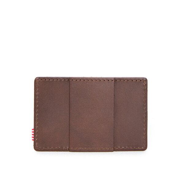 【EST】Herschel Felix Wallet 皮革 卡夾 鈔票夾 深咖啡 [HS-0159-639] F0421 1