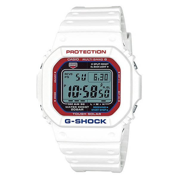 【EST O】G-Shock 鋼彈配色 太陽能 防水 運動 潮流 手錶 白紅藍 [GW-M5610TR-7JF] F0601 0