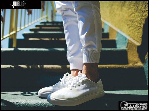 【EST】Publish Legacy Jogger Pants White 長褲 工作褲 束口褲 白色 [PL-4049-001] F0206 1