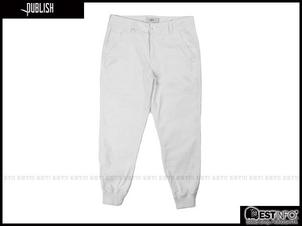 【EST】Publish Legacy Jogger Pants White 長褲 工作褲 束口褲 白色 [PL-4049-001] F0206 2