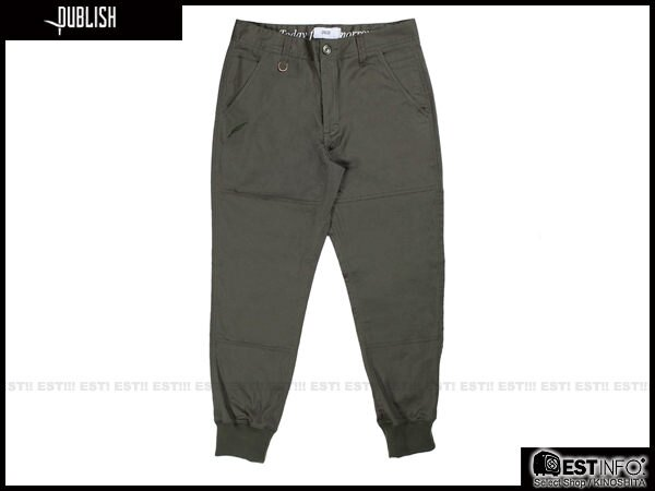 【EST】Publish Legacy Jogger Pants Olive 防潑水 長褲 工作褲 束口褲 橄欖綠 [PL-4049-035] F0206 1