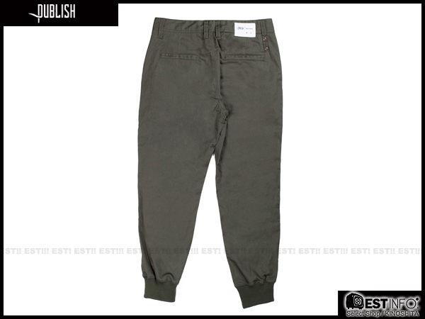 【EST】Publish Legacy Jogger Pants Olive 防潑水 長褲 工作褲 束口褲 橄欖綠 [PL-4049-035] F0206 2