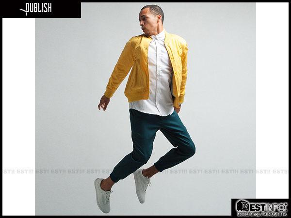 【EST】Publish Legacy Jogger Pants Ocean 防潑水 長褲 工作褲 束口褲 藍綠 [PL-4049-085] F0206 0