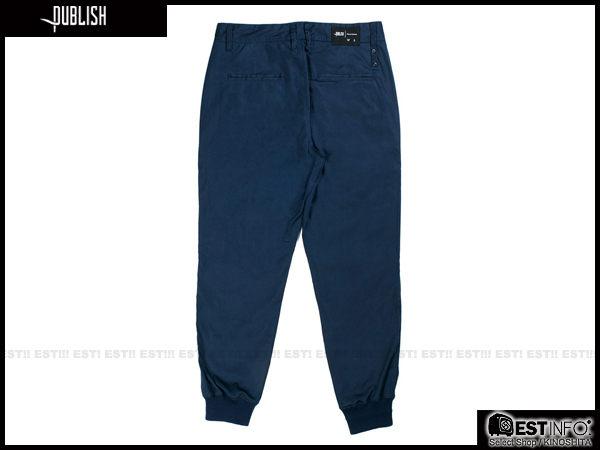 【EST】PUBLISH LEGACY JOGGER PANTS NAVY 長褲 工作褲 束口褲 [PL-4049-086] 深藍 W28~36 F1211 2