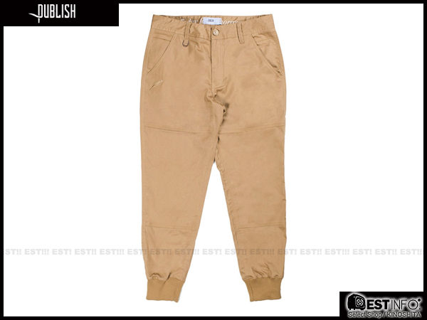 【EST】Publish Legacy Jogger Pants Tan 長褲 工作褲 束口褲 [PL-4049-537] 卡其 W28~36 F0206 1