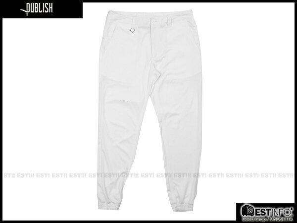 【EST】Publish Mono Franko Jogger 3M 反光 點點 拼接 洞洞 長褲 束口褲 黑/白 [PL-5021-001] E0711 1