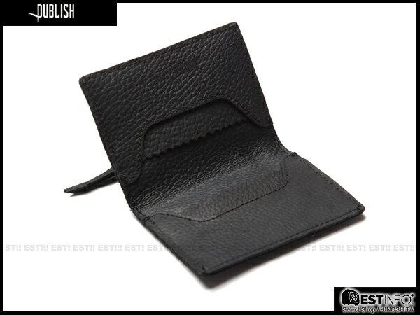【EST】Publish Lawley 經典 仿舊 皮革 拉鍊 零錢包 卡夾 證件夾 [PL-5050-002] 黑 E0711 0