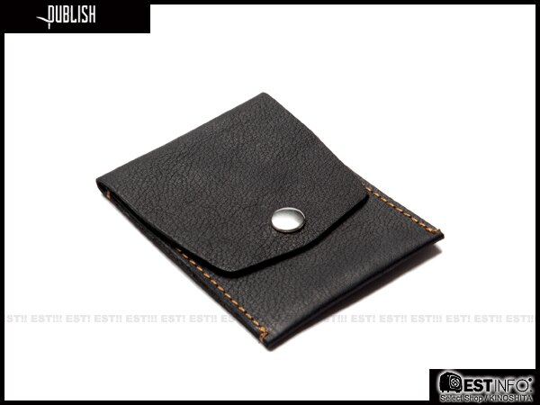 【EST】Publish Berwyn 經典 仿舊 皮革 卡夾 零錢包 小物 黑/咖啡 [PL-5053-002] E0711 0