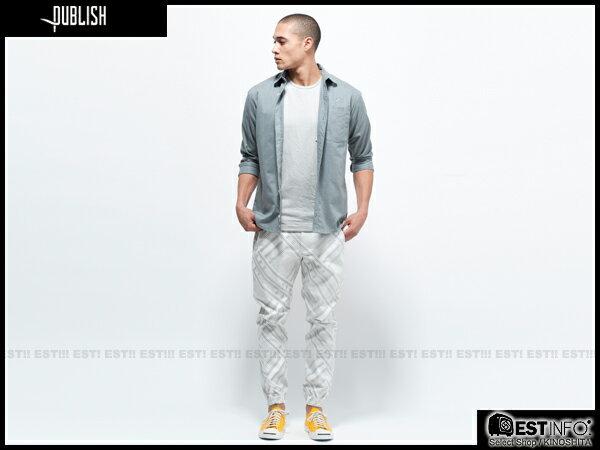 【EST】Publish Novelty Jogger Pants Bancroft 幾何 工作褲 長褲 束口褲 白 [PL-5057-001] E0819 2