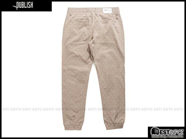【EST】Publish Novelty Jogger Pants Nato 點點 工作褲 束口褲 褐 [PL-5062-065] E0819 1