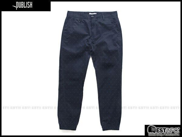 【EST】Publish Novelty Jogger Pants Nato 點點 工作褲 束口褲 藍 [PL-5062-086] E0819 0