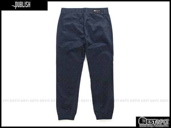 【EST】Publish Novelty Jogger Pants Nato 點點 工作褲 束口褲 藍 [PL-5062-086] E0819 1