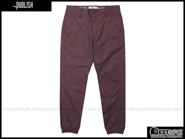 【EST】Publish Newkirk Jogger 束口褲 [PL-5064-072] E0912 0