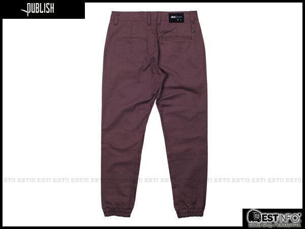 【EST】Publish Newkirk Jogger 束口褲 [PL-5064-072] E0912 1