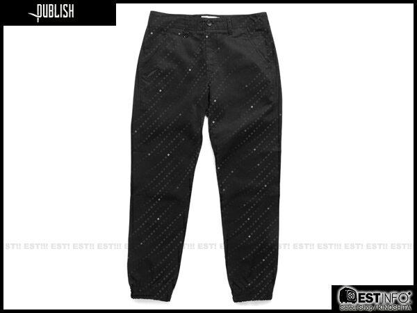 【EST】Publish Floyd Jogger 束口褲 黑 [PL-5069-002] E0912 0