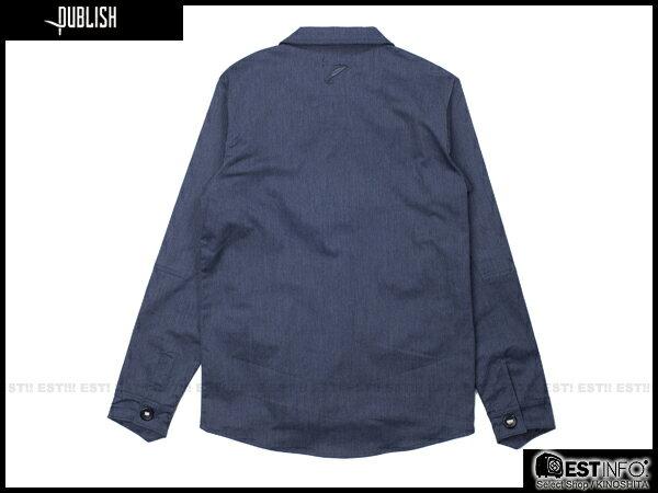 【EST】PUBLISH HAWK 英倫風 厚磅 外套 [PL-5078-086] 深藍 S~L E0912 1
