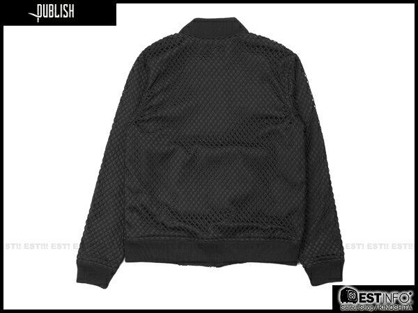【EST】Publish Millo 洞洞 拼接 夾克 外套 黑 [PL-5083-002] E0912 1
