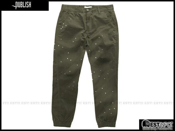【EST】PUBLISH DAX JOGGER 3M 反光 束口褲 [PL-5092-035] W28~34 E0930 0