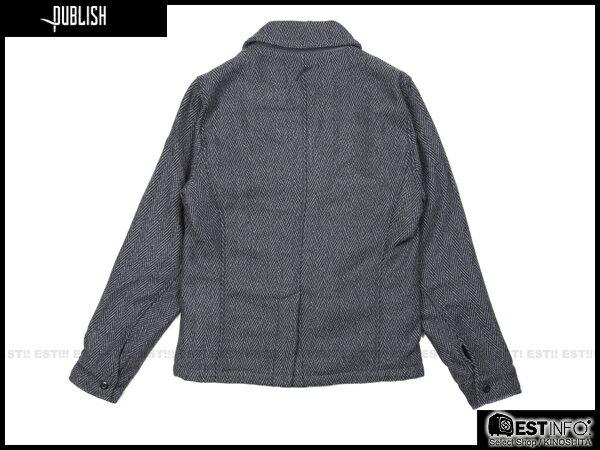 【EST】PUBLISH NELSON 厚磅 海軍風 雙排扣 外套 [PL-5105-165] 鐵灰 S~L E0930 1