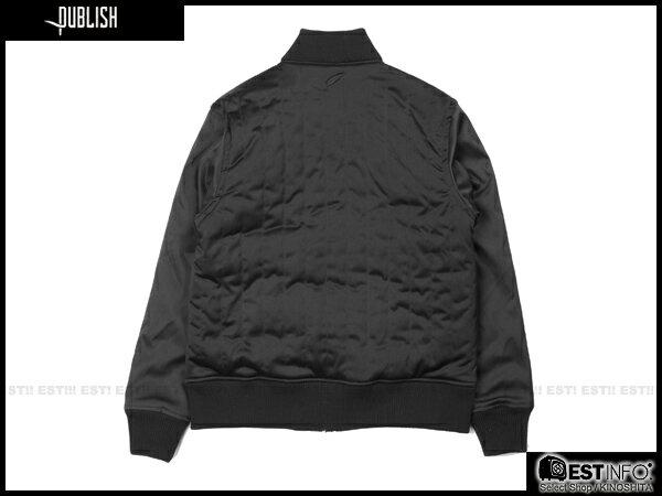 【EST】PUBLISH RICO 鋪棉 拼色 軍裝 外套 [PL-5106-002] 黑 S~L E0930 1