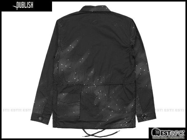 【EST】Publish Zane 3M反光 流星 長版 口袋 外套 [PL-5113-002] 黑 S~L E0930 1