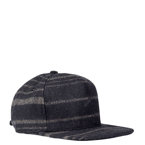 【EST】Publish Roarke Snapback 羊毛氈 棒球帽 黑/酒紅 [PL-5119-002] E1104 0