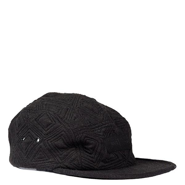 【EST】PUBLISH AMENA SNAPBACK 壓紋 五分割帽 棒球帽 [PL-5126] 黑/鐵灰 E1104 0