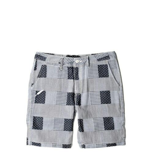 【EST】Publish Tyrus 格紋 工作褲 短褲 五分褲 藍 [PL-5258-086] F0221 0