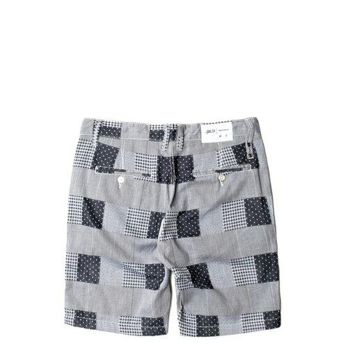 【EST】PUBLISH TYRUS 格紋 工作褲 短褲 五分褲 [PL-5258-086] 藍W28~34 F0221 1