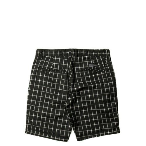 【EST】Publish Fable 格紋 工作褲 短褲 五分褲 黑 [PL-5261-002] F0221 1