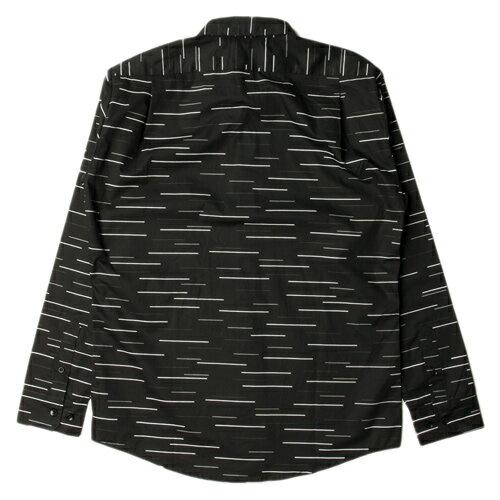 【EST】PUBLISH SABIN 不規則 條紋 長袖 襯衫 [PL-5262-002] 黑 F0221 1