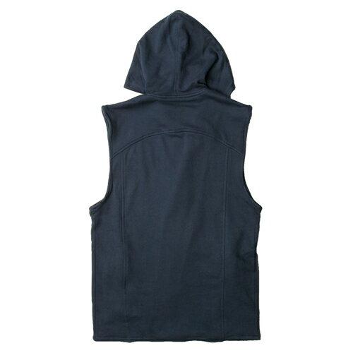 【EST】PUBLISH VON 內刷毛 連帽 背心 外套 [PL-5265-086] 藍 S~M F0221 1