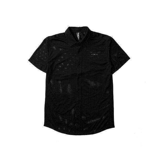 【EST】Publish Mono 2 Genevo 運動 網布 短袖 襯衫 黑 [PL-5286-002] F0417 0