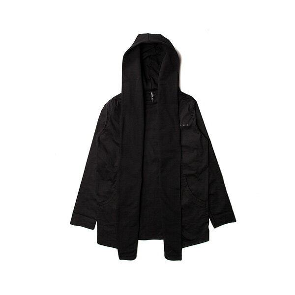 【EST】PUBLISH MONO 2 KONRAD 運動 連帽 開襟 外套 黑 [PL-5289-002] F0417 0